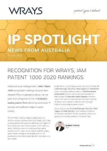 IP Spotlight 21 July