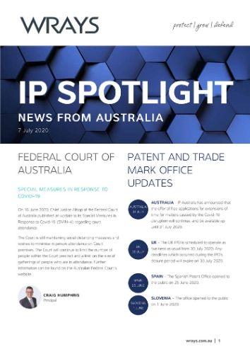 IP Spotlight 7 July 2020
